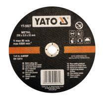 YATO Vágókorong fémre 230x2,0x22