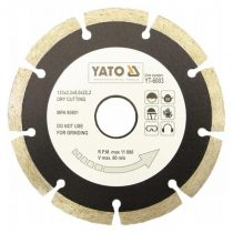 Yato YT-6002 Gyémánt vágótárcsa 115mm szegmentált