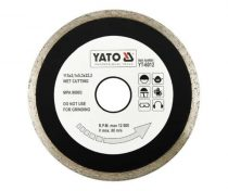 Yato YT-6012 Gyémánt vágótárcsa 115mm folytonos