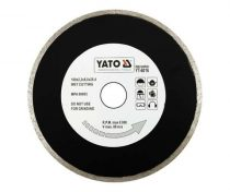 Yato YT-6016 Gyémánt vágótárcsa 180x25,4mm folytonos (porcelán)