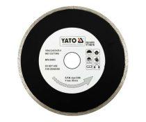 Yato Gyémánt vágótárcsa 180x25,4mm folytonos (porcelán)