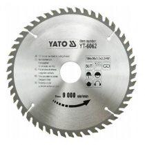 Yato YT-6062 Fűrésztárcsa fához 184x50x30 keményfémlapkás