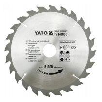 Yato YT-6065 Fűrésztárcsa fához 200x24x30 keményfémlapkás