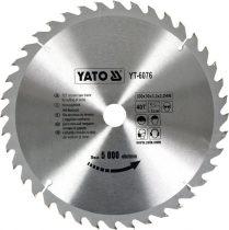 YATO Fűrésztárcsa fához 300/30/40