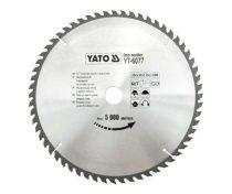 Yato YT-6077 Fűrésztárcsa fához 300x60x30 keményfémlapkás