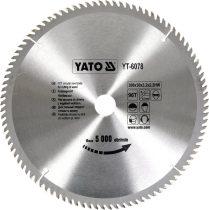 YATO Fűrésztárcsa fához 300/30/96