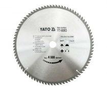 Yato YT-6083 Fűrésztárcsa fához 350x84x30 keményfémlapkás