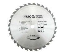 Yato YT-6085 Fűrésztárcsa fához 400x32x30 keményfémlapkás