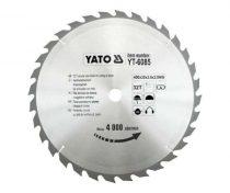 YATO Fűrésztárcsa fához 400/30/32
