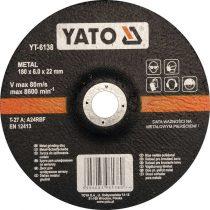 YATO Tisztítókorong fémre 180 x 22,2 x 6,8 mm