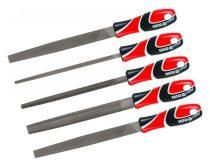 YATO Reszelő készlet 5 részes 250 mm durva