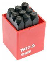 YATO Számbeütő készlet 8mm 9 részes