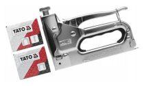 YATO Tűzőgép 6-14 mm+kapcsok (3-féle kapocshoz alkalmas)