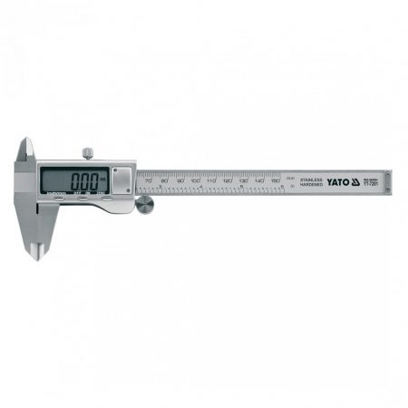 Yato YT-7201 Tolómérő 150/0,03 digitális inox 1/10/50