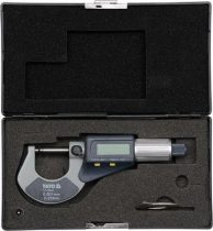 YATO Digitális mikrométer 0-25 mm +/-0,01 mm