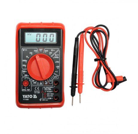 Yato YT-73080 Multiméter digitális