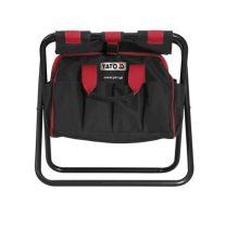 YATO Összecsukható szék zsebbel