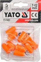 YATO Füldugó 7-12 mm 5 pár