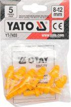 YATO Füldugó vágott 8-12 mm 5 pár