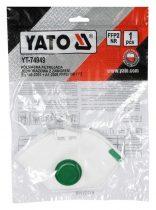 Yato YT-74949 Pormaszk FFP2 NR SL szelepes 1/50