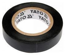 YATO Szigetelőszalag 12 mm x 10 m fekete