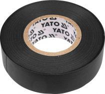 YATO Szigetelőszalag 19 x 0,13 mm x 20 m fekete
