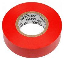 YATO Szigetelőszalag 19 x 0,13 mm x 20 m piros