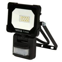 YATO Elektromos LED fényvető mozgásérzékelős 10W