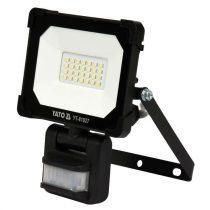 YATO Elektromos LED fényvető mozgásérzékelős 20W