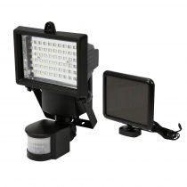 YATO Napelemes LED lámpa mozgásérzékelős 4W