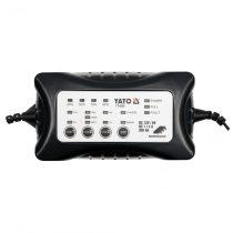YATO Akkumulátor töltő 6-12V 1-4A max:200Ah