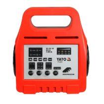 YATO Akkumulátor töltő 6-12V 8A 5-200Ah