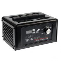 YATO Akkumulátor töltő 12-24V 30A  50-600Ah