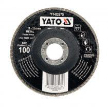 YATO Lamellás csiszoló 125/40