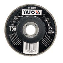 YATO Lamellás csiszoló 125/60