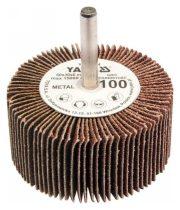 YATO Csapos lamellás, legyező csiszoló P100 60x30x6 mm