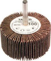 YATO Csapos lamellás, legyező csiszoló P150 60x30x6 mm