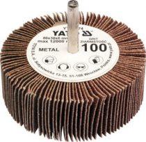 YATO Csapos lamellás, legyező csiszoló P60 80x30x6 mm