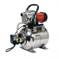 YATO Elektromos házi vízmű szivattyú Inox hidrofor tartállyal 1200 W