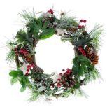 Karácsonyi dekoráció-, illat