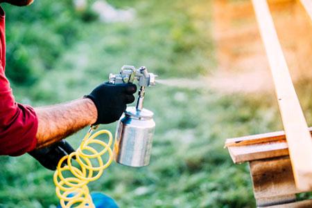 légkompresszor festőpisztoly kiegészítővel