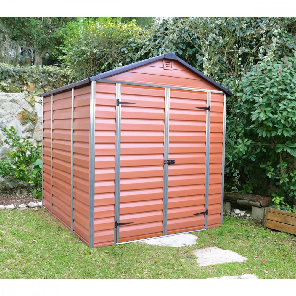 Image of Palram Skylight 180 x 230 barna kerti ház