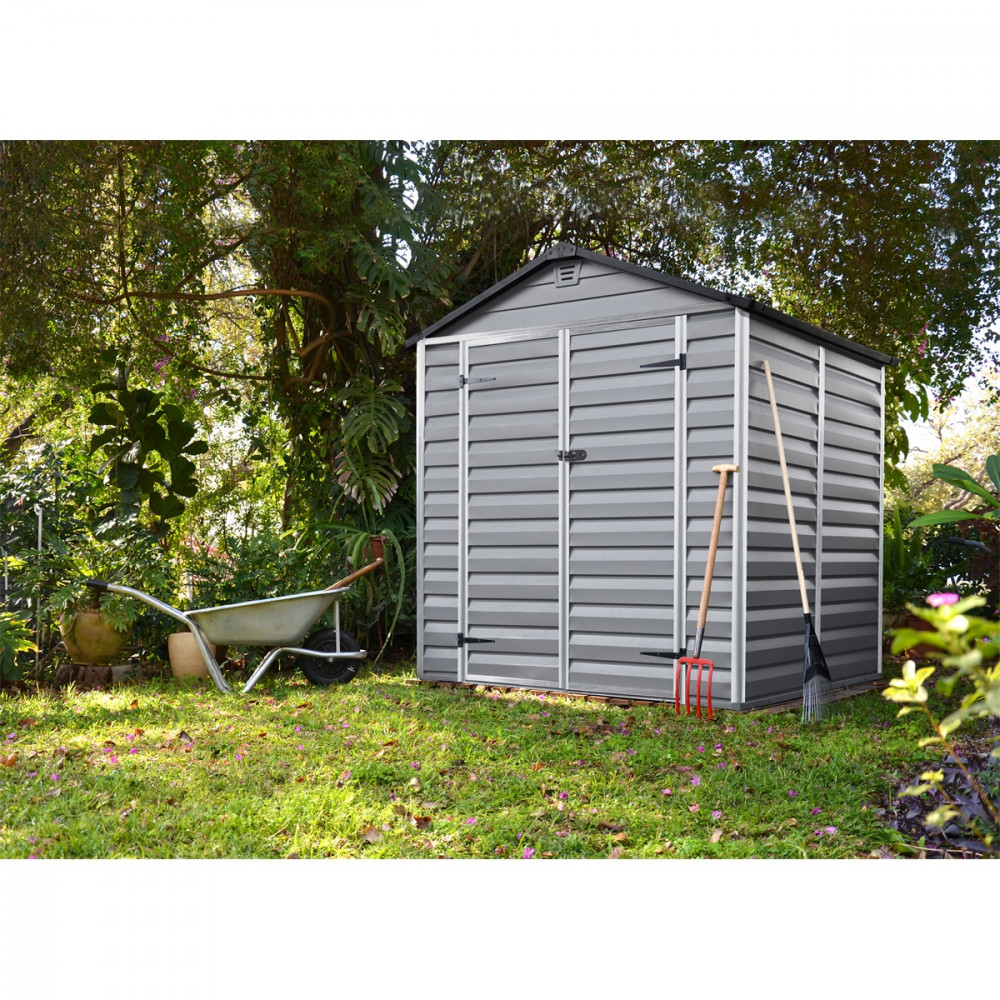 Image of Palram Skylight 180 x 150 szürke kerti ház